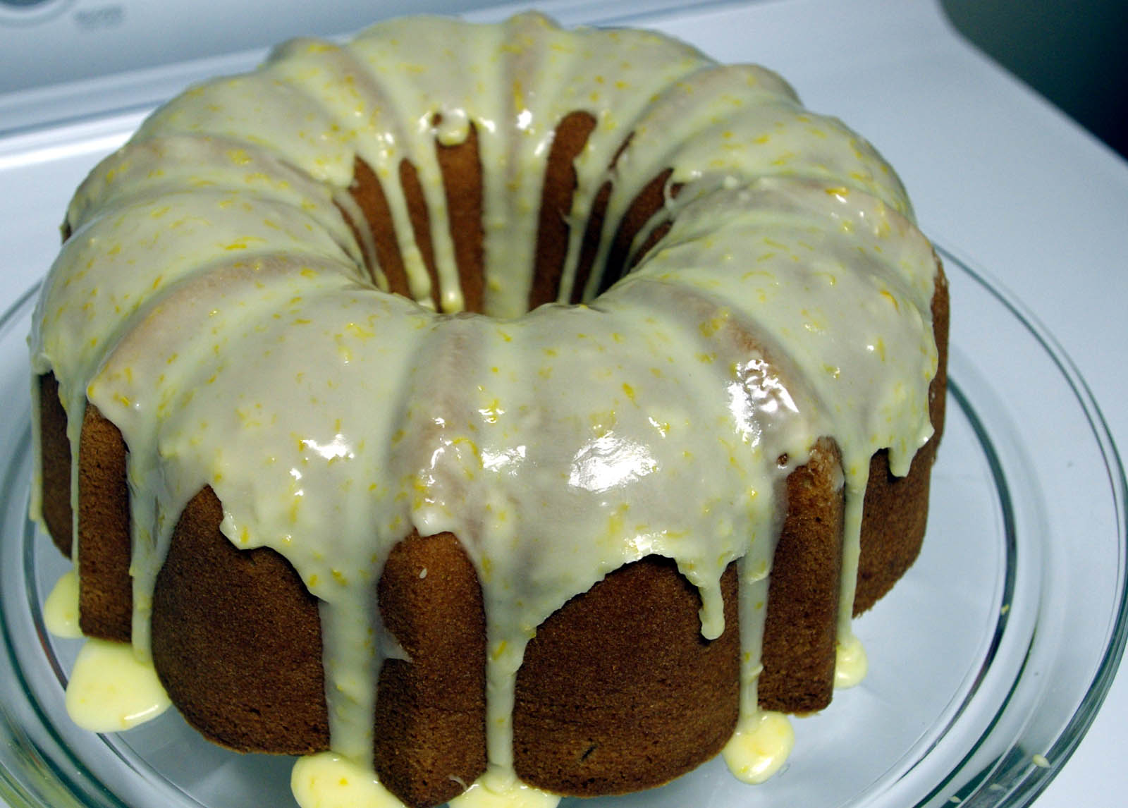 Glazed Lemon-and-Orange Pound Cake