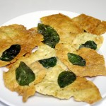 basil flatbread crackers