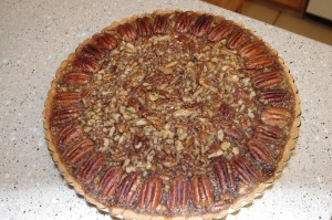 baked pecan tart