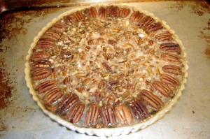 pre-baked pecan pie