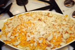 prebaked macaroni and cheese