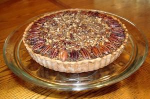 whole pecan tart