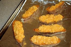 sweet potatoes stuffed