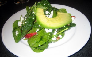 Reata Favorites - Baby Spinach Salad with Strawberries