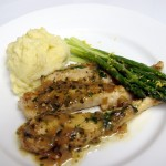 chicken tarragon plated