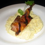 Texas Hill Country - Applewood Smoked Bacon-Wrapped Quail