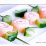 How to have a Cocktail Party - salmon pinwheels