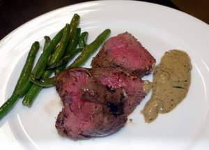 Cooking Wild Game - Peppercorn Encrusted Venison