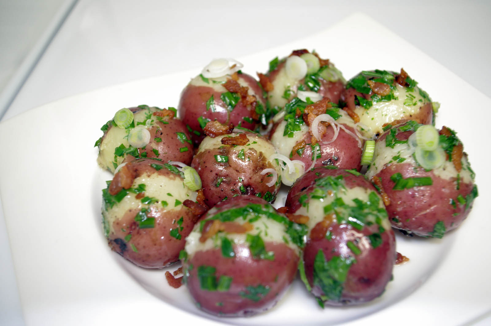 Easy Herbed New Potatoes