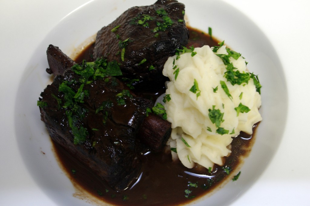 Red-Wine-Braised Beef Short Ribs