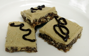 Chef Kathy's  Winning Cookie Recipes - Pecan-Mocha Crunch Bars
