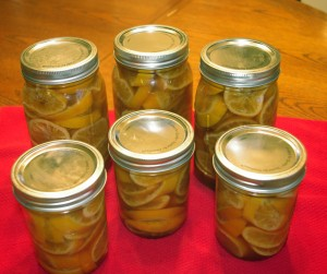 Honey-Preserved Clementines - clementines in jars with lids
