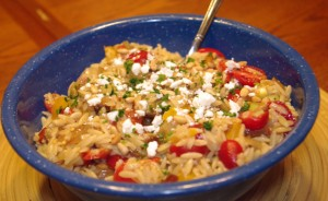 Super Bowl Party Appetizers - Tailgate Pasta Salad