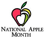 October is National Apple Month