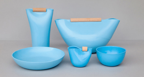 Gotta Get a Glop? Shapeable Tableware For Multiple Uses